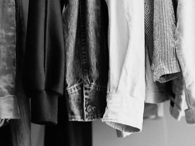 PET CHECK BLOG - clothing hanging on a rail