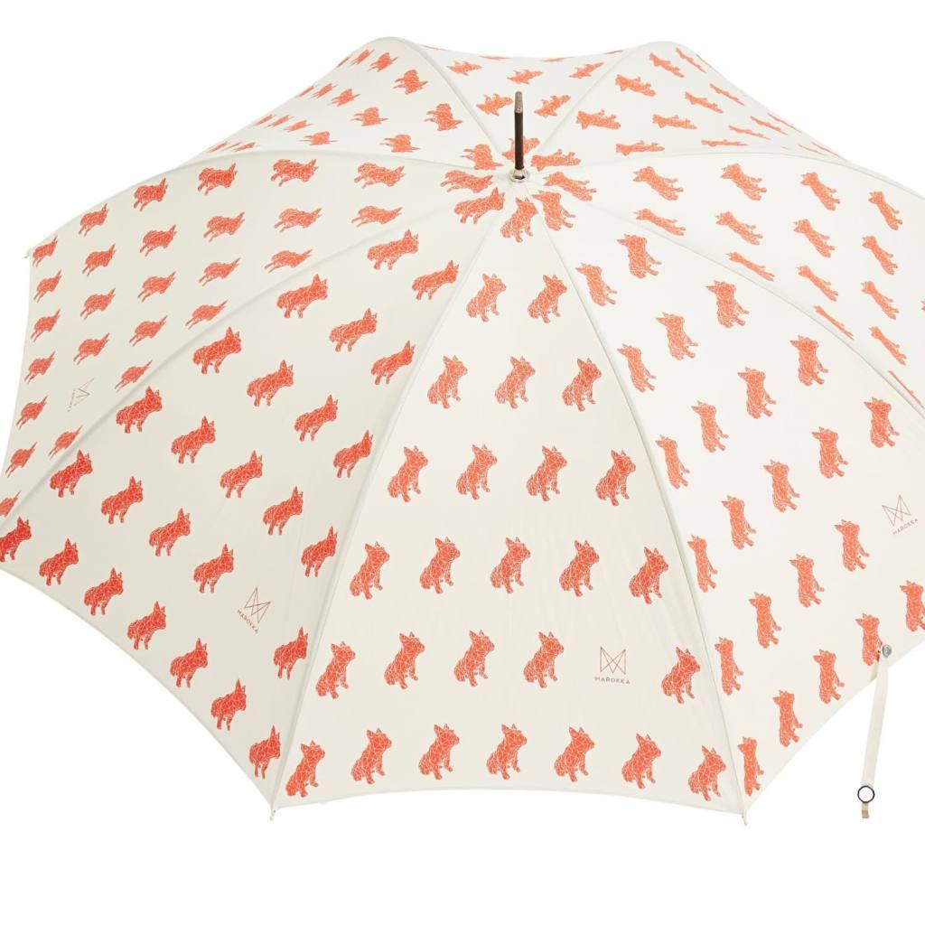 Pet Print Umbrella by Marokka of a bull dog