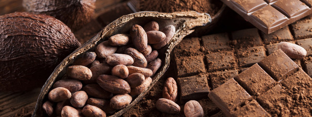 Nuts and chocolate