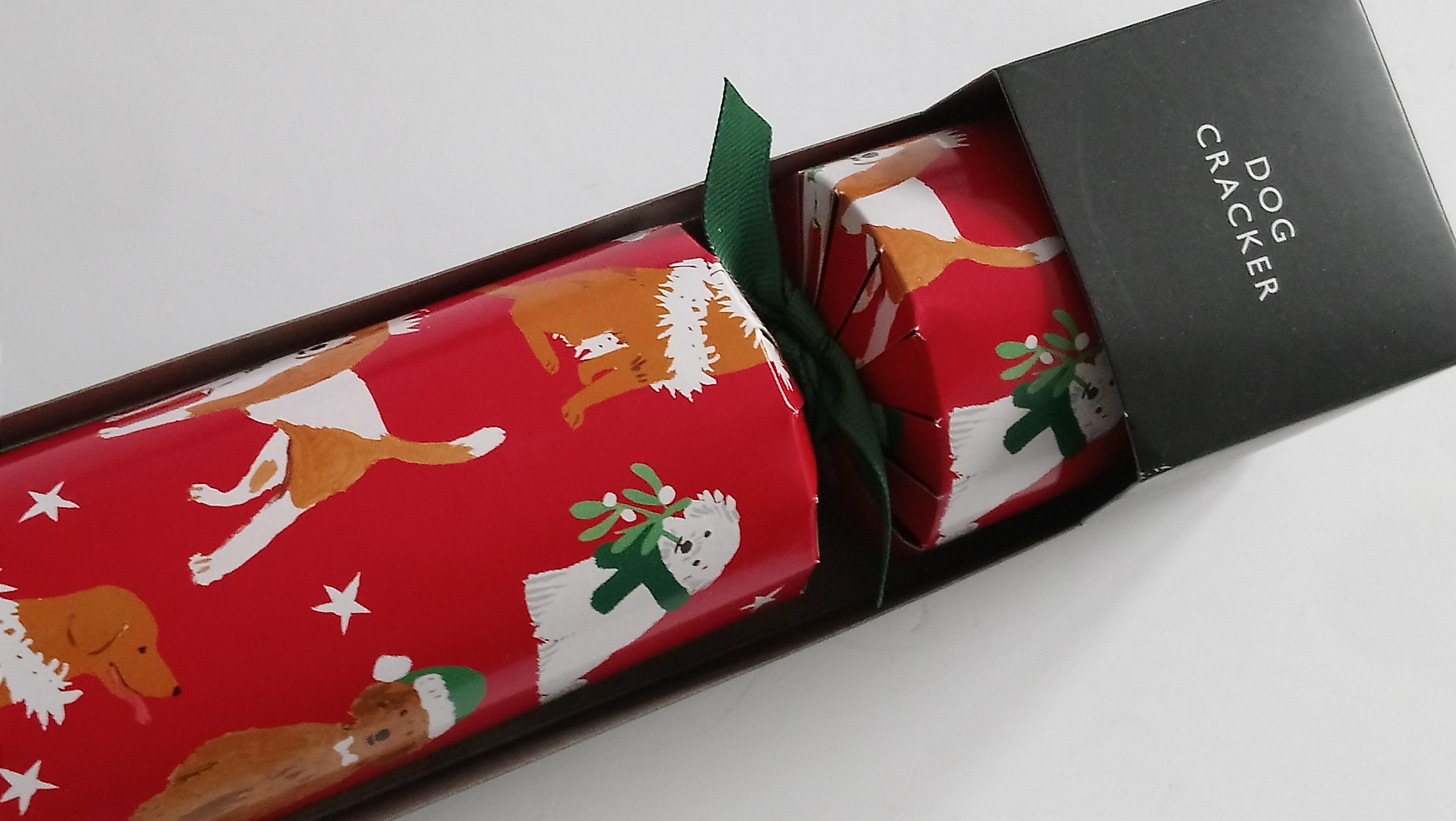 PET CHECK BLOG - Christmas - Christmas Dog Cracker
