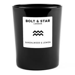 Bolt & Star Candle
