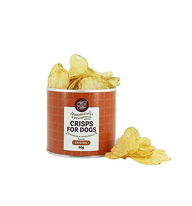 Crisps for dog treats