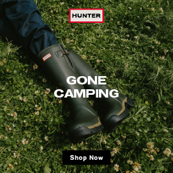 PET CHECK UK Hunter Boots Gone Camping