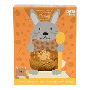 Easter egg from Pets At Home