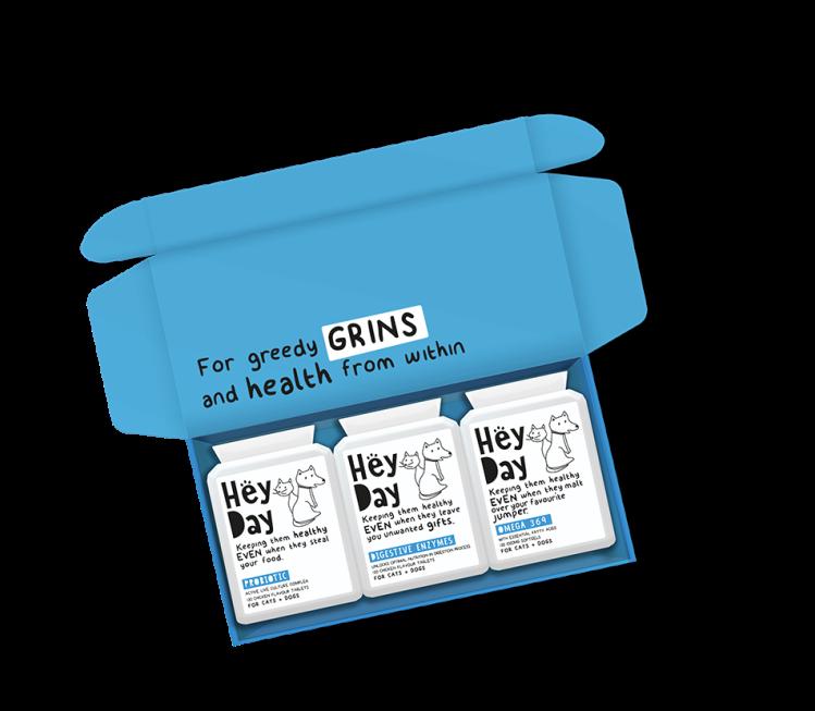 PET CHECK UK Hey Day Digestive Bundle Box