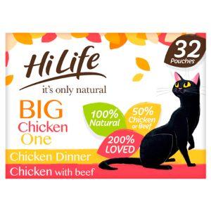 Hi Life cat pet food banner