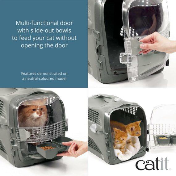 PET CHECK BLOG Catit Cat carrier - functional door