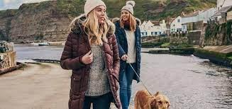 PET CHECK BLOG 2 women dog walking wearing beanies